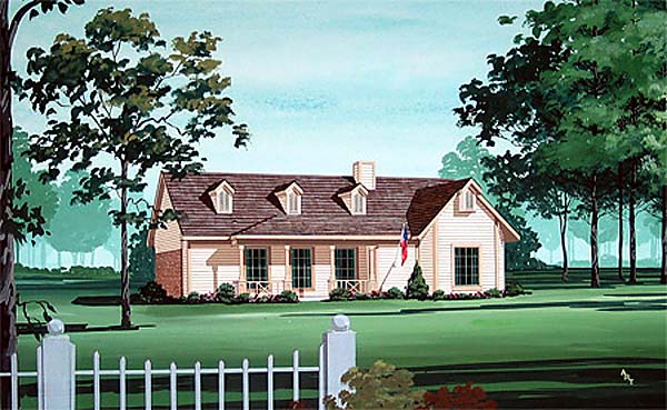 Traditional House Plan 65731 Elevation
