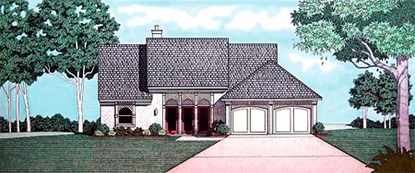 Traditional House Plan 65734 Elevation