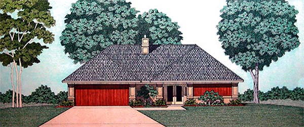 Traditional House Plan 65735 Elevation