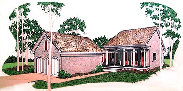 Traditional House Plan 65739 Elevation