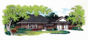Traditional House Plan 65746 Elevation