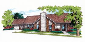 Ranch House Plan 65748 Elevation