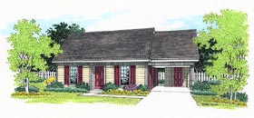 Ranch House Plan 65750 Elevation