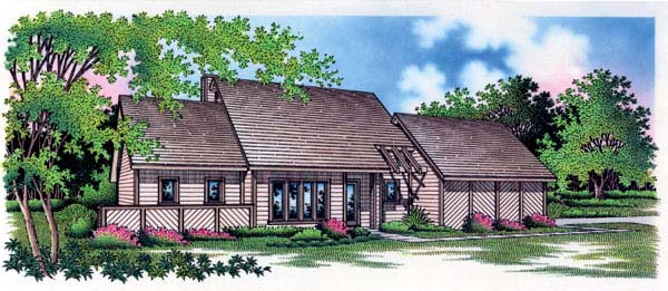 Contemporary House Plan 65756 Elevation