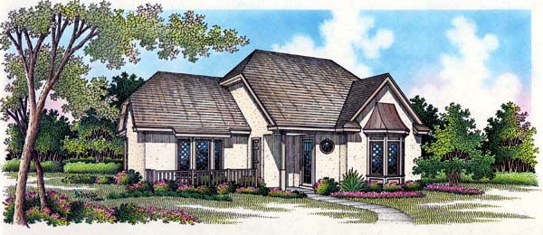 Traditional House Plan 65759 with 3 Beds, 3 Baths Elevation
