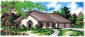 Traditional House Plan 65762 Elevation