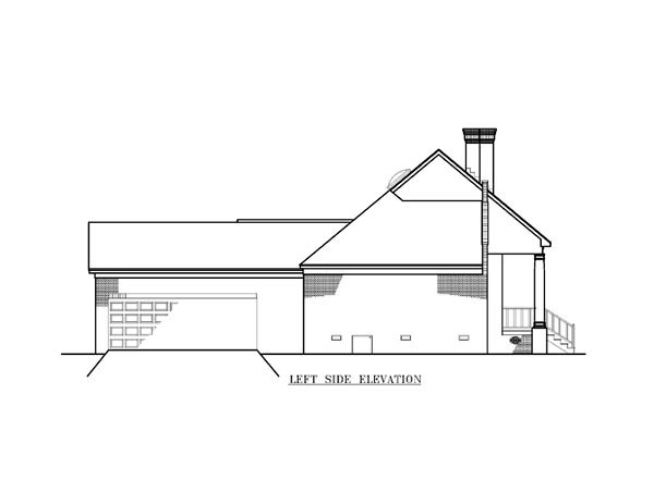 Country, One-Story House Plan 65763 with 3 Beds, 2 Baths, 2 Car Garage Picture 1
