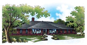 Traditional House Plan 65773 Elevation