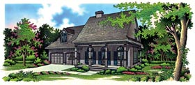 Country House Plan 65774 Elevation