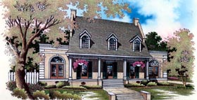 Cape Cod House Plan 65777 Elevation