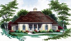 Colonial European House Plan 65778 Elevation