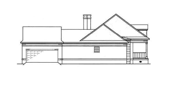 Country, One-Story House Plan 65779 with 3 Beds, 3 Baths, 2 Car Garage Picture 1