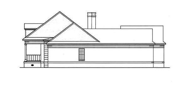 Country, One-Story House Plan 65779 with 3 Beds, 3 Baths, 2 Car Garage Picture 2