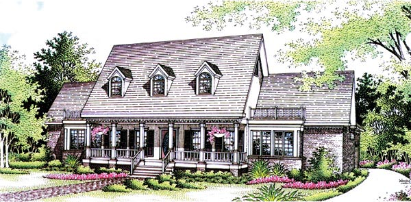 Country House Plan 65788 Elevation