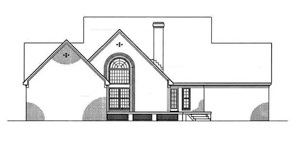 Country House Plan 65788 Rear Elevation