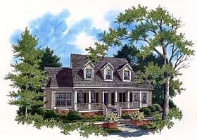 Country House Plan 65791 Elevation