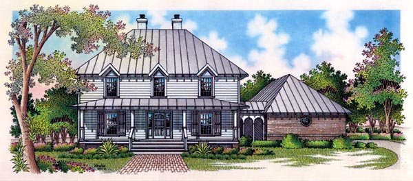 Country House Plan 65793 Elevation