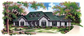 Country House Plan 65794 Elevation
