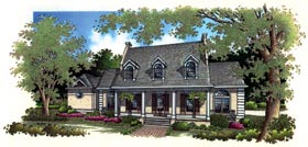 House Plan 65795 | European Style Plan with 2680 Sq Ft, 4 Bedrooms, 4 Bathrooms, 2 Car Garage Elevation