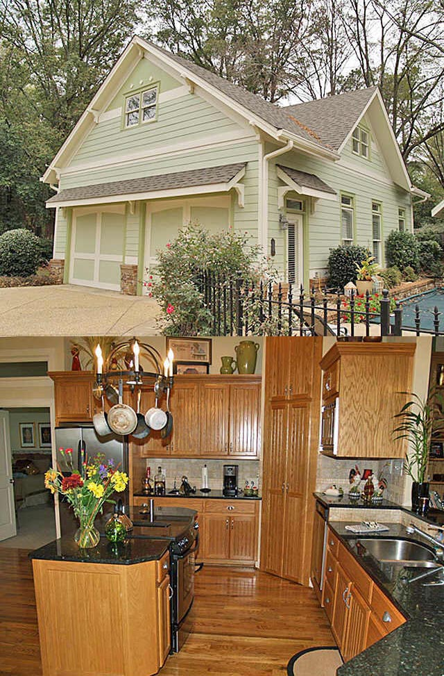 Bungalow House Plan 65800 with 3 Beds, 2 Baths, 2 Car Garage Picture 1