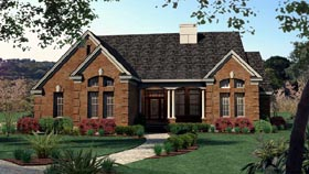 Traditional House Plan 65801 Elevation