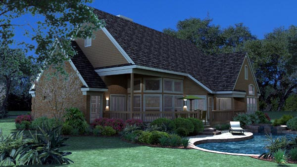 Traditional House Plan 65801