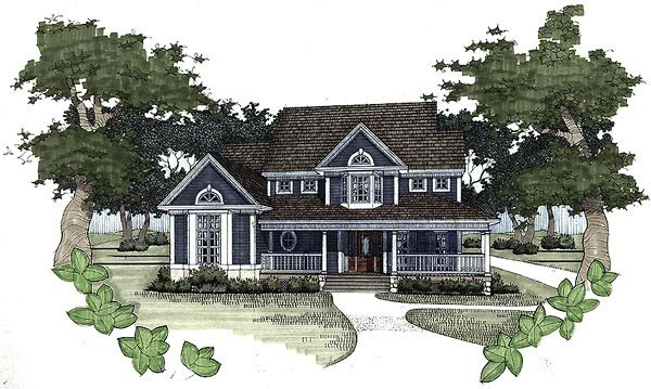 Country House Plan 65816 Elevation