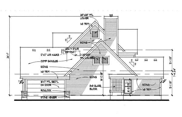 Country House Plan 65818 with 3 Beds, 2.5 Baths, 2 Car Garage Picture 2