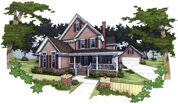 Southern House Plan 65835 Elevation