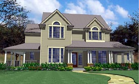 Country House Plan 65846 Elevation