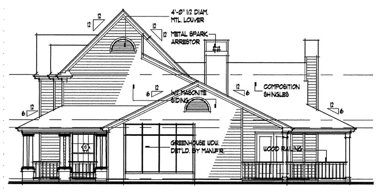Country House Plan 65846 with 3 Beds, 2.5 Baths Picture 2