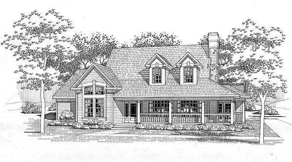 Southern House Plan 65849 Elevation