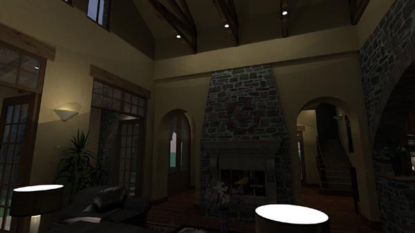Mediterranean, Tuscan House Plan 65863 with 4 Beds, 4 Baths, 3 Car Garage Picture 2