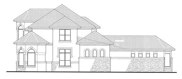 Mediterranean House Plan 65885 with 6 Beds, 7 Baths, 2 Car Garage Picture 1