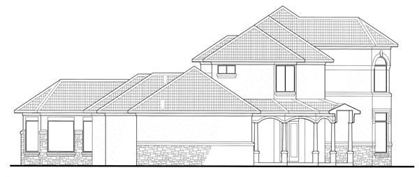 Mediterranean House Plan 65885 with 6 Beds, 7 Baths, 2 Car Garage Picture 2