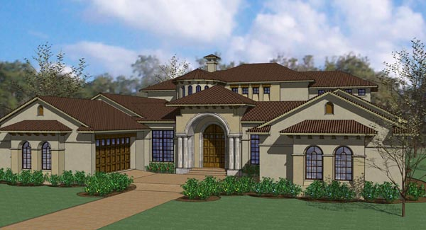 Mediterranean Traditional House Plan 65886 Elevation