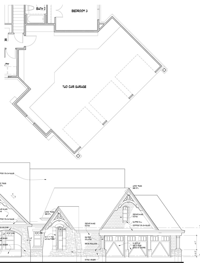 House Plan 65888 At Familyhomeplans Com