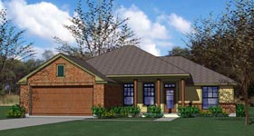 Cottage Country Traditional House Plan 65889 Elevation