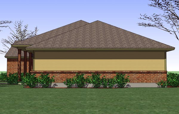 Cottage, Country, Traditional House Plan 65889 with 3 Beds, 2 Baths, 2 Car Garage Picture 2