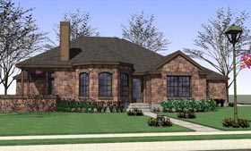 Traditional , Country , Coastal House Plan 65891 with 4 Beds, 2 Baths, 2 Car Garage Elevation