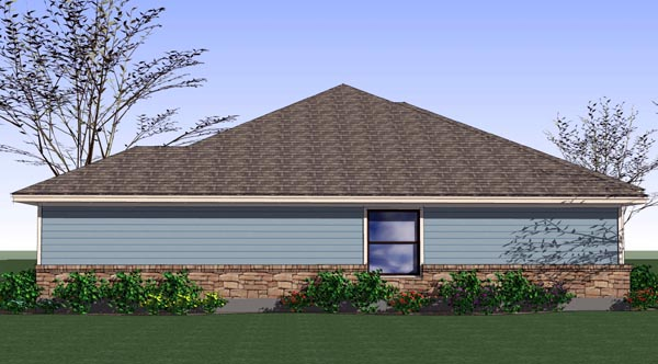 Cottage, Craftsman, Traditional House Plan 65892 with 4 Beds, 2 Baths, 2 Car Garage Picture 1