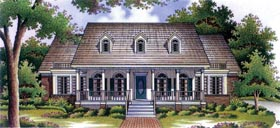 Country House Plan 65903 Elevation