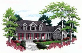 Country House Plan 65904 Elevation