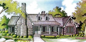 Country House Plan 65905 Elevation