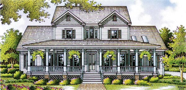 Farmhouse House Plan 65906 Elevation