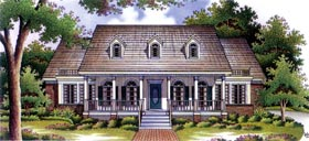 Country House Plan 65907 Elevation