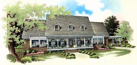 Country House Plan 65911 Elevation