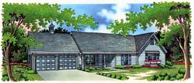 Ranch House Plan 65916 Elevation