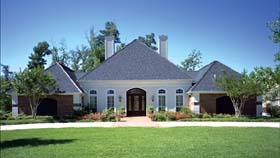 House Plan 65918 Elevation