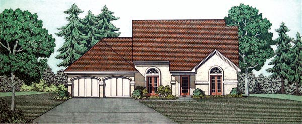 House Plan 65926 Elevation